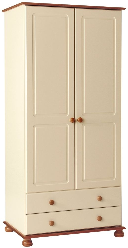 Copenhagen Cream 2 Door Tall Wardrobe