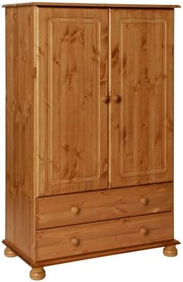 Copenhagen Pine 2 Door Wardrobe