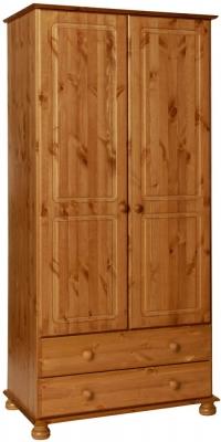 Copenhagen Pine 2 Door Tall Wardrobe
