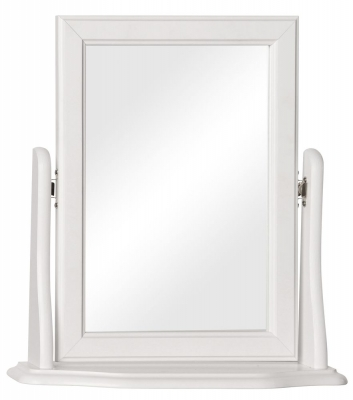Copenhagen White Dressing Mirror