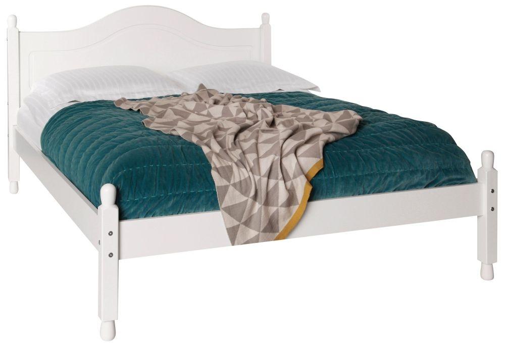 Copenhagen White 4ft 6in Bed