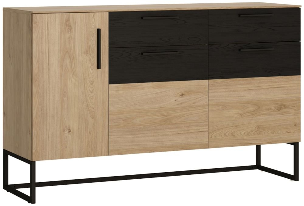 Cordoba Sideboard - Light Jackson Hickory and Dark Accents