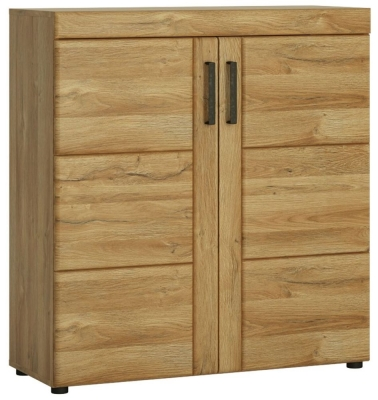 Cortina Grandson Oak Shoe Cabinet