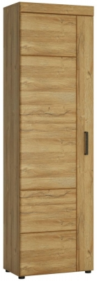 Cortina Grandson Oak Tall Left Hand Facing Cupboard