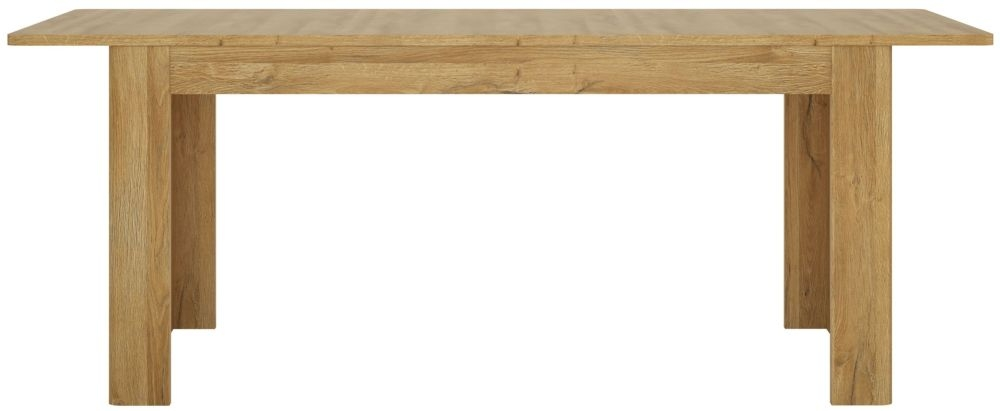 Cortina Grandson Oak Extending Dining Table