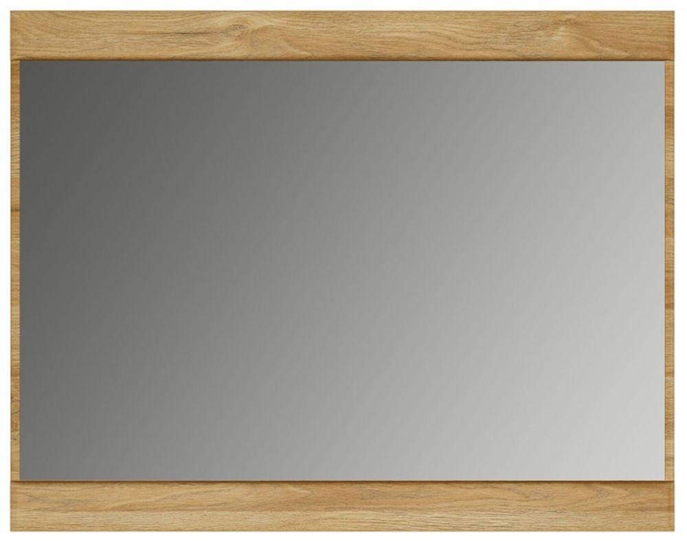 Cortina Grandson Oak Rectangular Mirror - 92.8cm x 72.5cm
