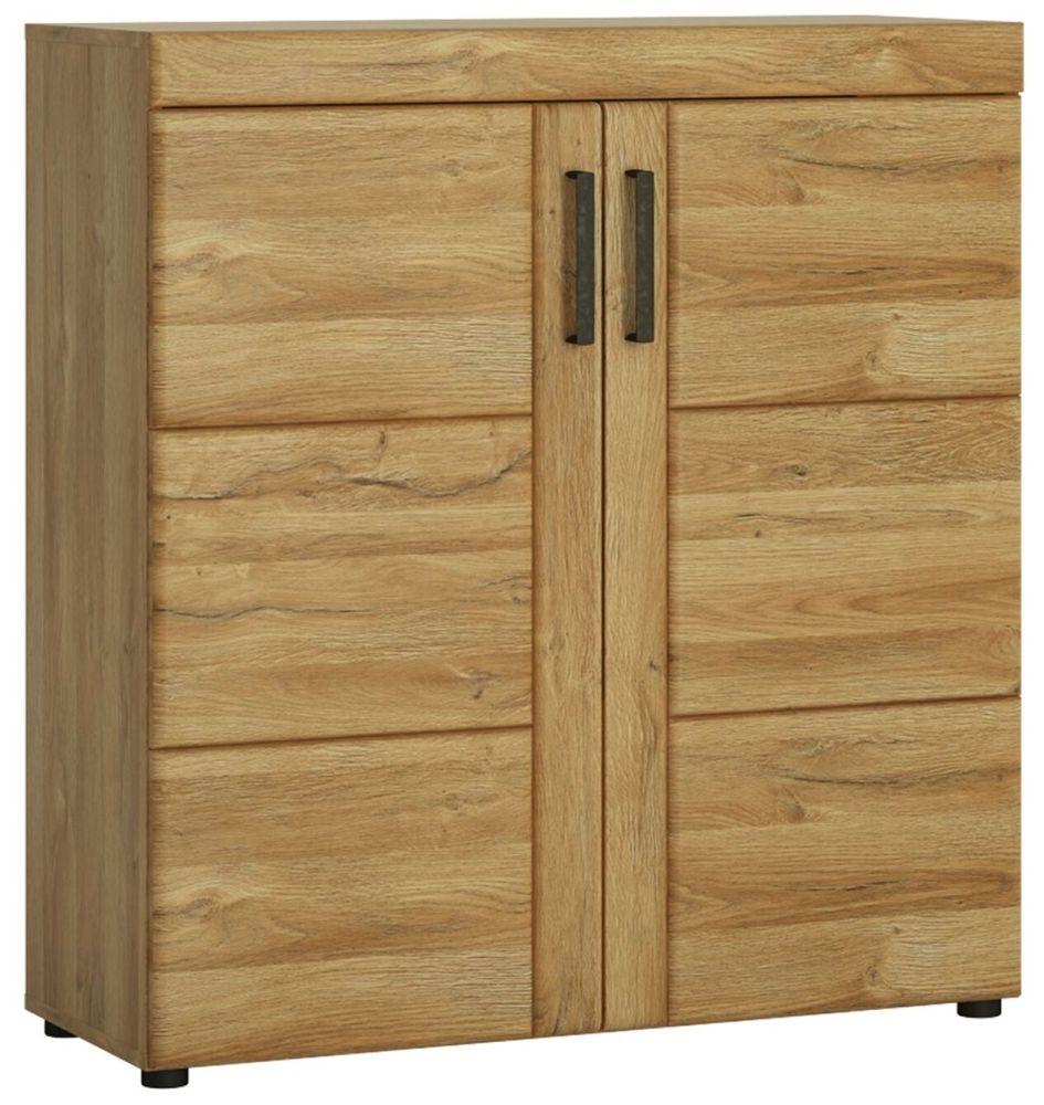 Cortina Grandson Oak Shoe Cabinet