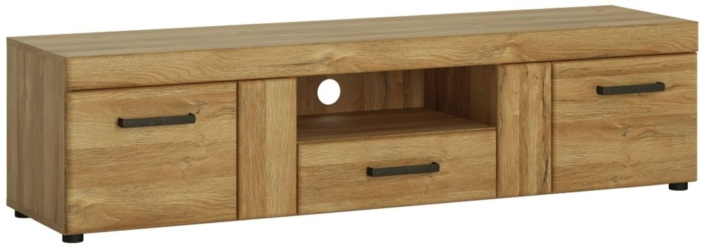 Cortina Grandson Oak Wide TV Cabinet