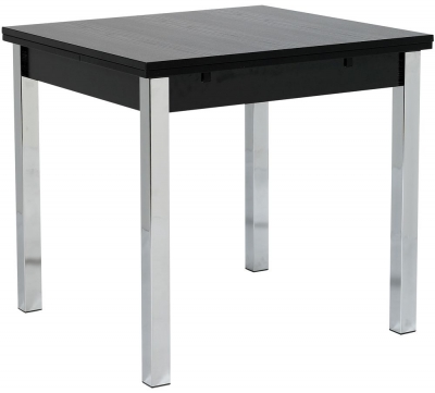 Designa Black Ash Dining Table - Wide Extending
