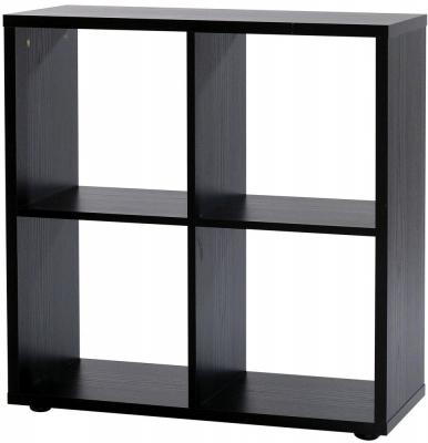 Designa Black Ash Room Divider - 4 Section