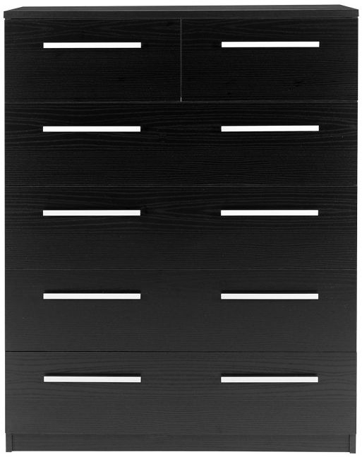 Designa Black Ash 2+4 Drawer Chest