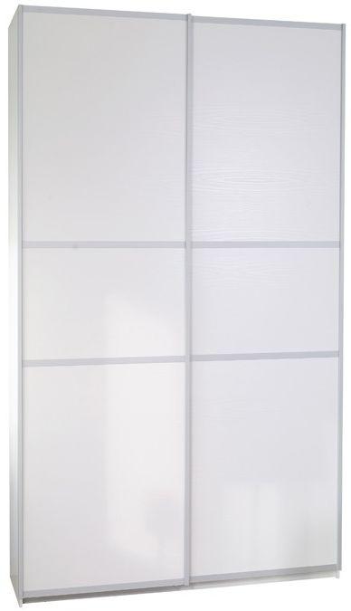 Designa White Melamine Door Sliding Wardrobe