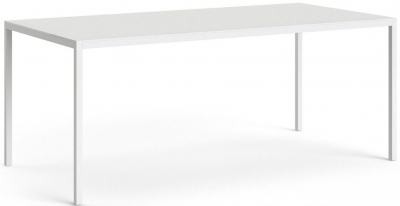 Family White 180cm Dining Table