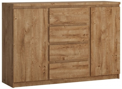 Fribo Oak 2 Door Sideboard
