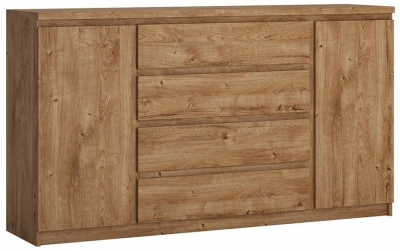 Fribo Oak 2 Door Wide Sideboard
