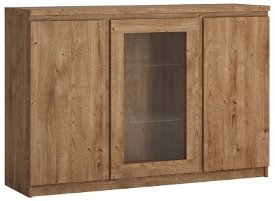 Fribo Oak 3 Door Sideboard