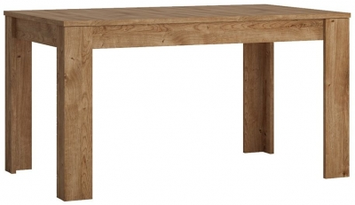 Fribo Oak Extending Dining Table