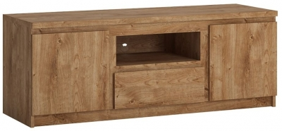 Fribo Oak Large TV Cabinet