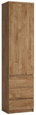 Fribo Oak Tall Narrow Cupboard