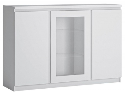 Fribo White 3 Door Sideboard
