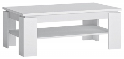 Fribo White Large Coffee Table