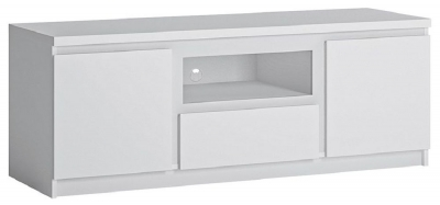Fribo White TV Cabinet