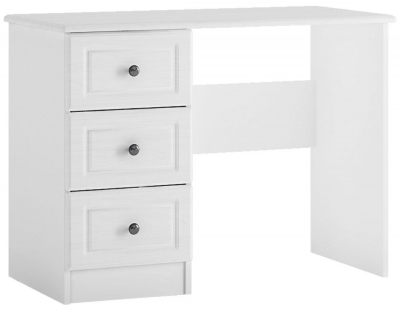 Hampshire Dressing Table - White Textured and Melamine