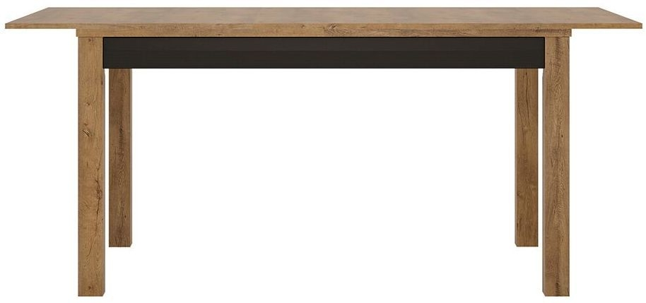 Havana Extending Dining Table - Oak and Black