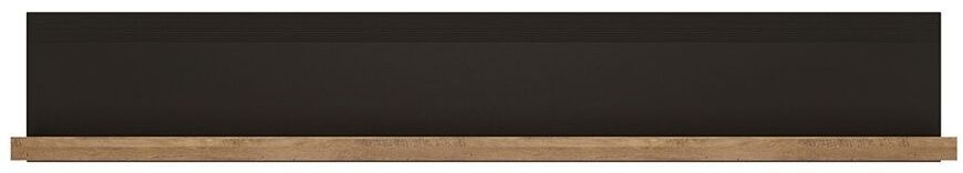 Havana Wall Shelf - Oak and Black