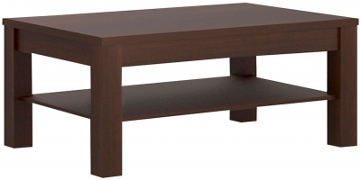 Imperial Coffee Table - Dark Mahogany Melamine