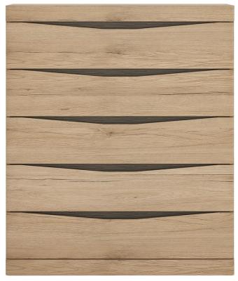 Kensington Oak 5 Drawer Chest
