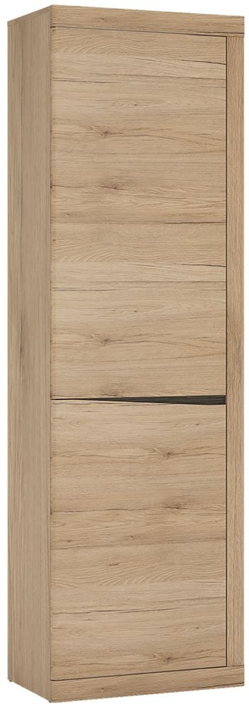 Kensington Oak Tall Narrow Cupboard