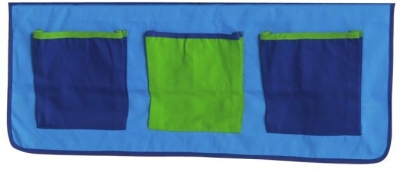 Kids World Blue Print Pocket