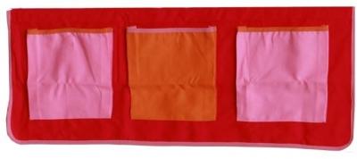 Kids World Pink Print Pocket