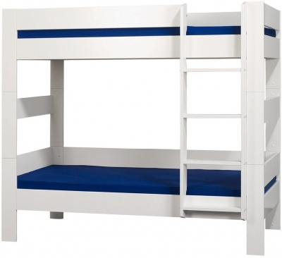 Kids World White Bunk Bed