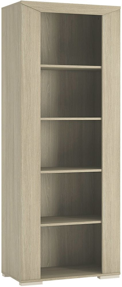 Madras Champagne Melamine Bookcase Unit - Tall Open