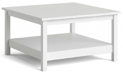 Madrid White Coffee Table