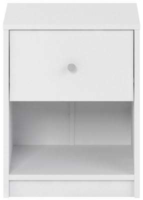 May White Bedside Cabinet