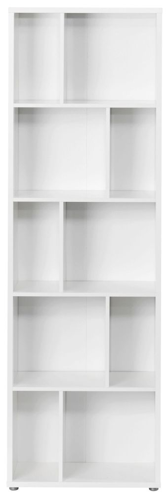 Maze Tall Bookcase - White