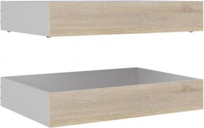 Naia Oak Underbed Storage Drawers (Set of 2)