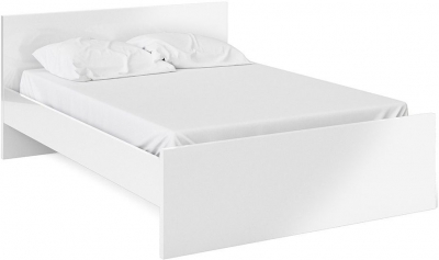 Naia White High Gloss Bed