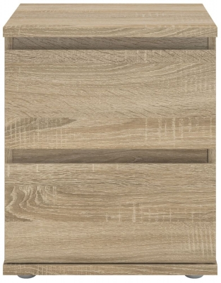 Nova Oak Bedside Cabinet