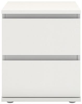 Nova White Bedside Cabinet