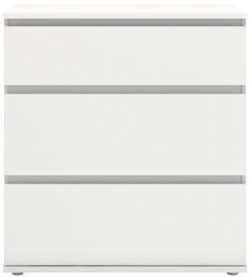 Nova White 3 Drawer Chest