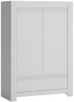 Novi Alpine White 2 Door 1 Drawer Cabinet