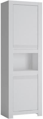 Novi Alpine White 2 Door Cabinet