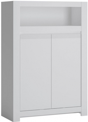 Novi Alpine White 2 Door Sideboard