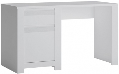 Novi Alpine White Desk