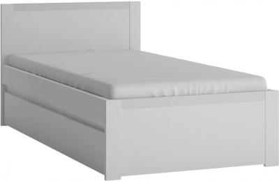 Novi Alpine White Storage Bed