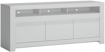 Novi Alpine White TV Cabinet